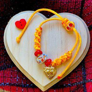 Princess 👸 Queen Love Murano braided bracelet